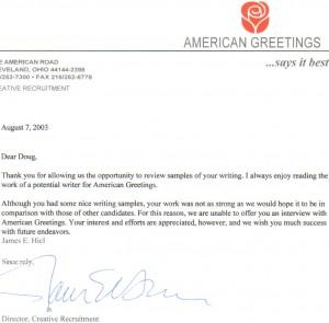 Amer Greet Letter