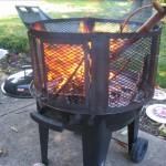 My fire.