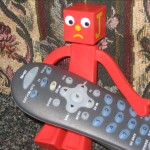 Me and the remote.