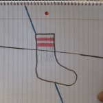 My Odd Sock on the high wire.