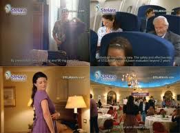 Scenes from Stelara TV commercial