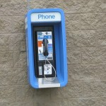 Wow, a pay phone!