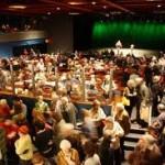 Crowded room