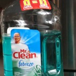 Mr. Clean...with Fabreze no less!