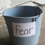 "Big bucket of ""fear."""