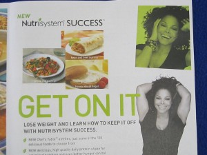 Losing weight with Nutrisystem