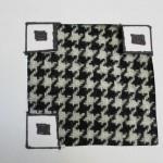 My Odd Sock QR Code:  Houndstooth