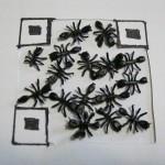 My Odd Sock QR Code:  Black Plastic Ants