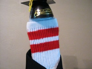MS Commencement Speaker My Odd Sock