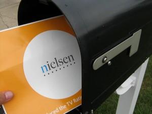 The postman bringeth my Nielsen Rating Diarys!