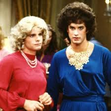 """Bosom Buddies,"" two guys comfy in a woman's world."