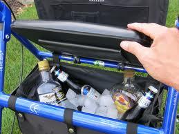 Rollator cooler