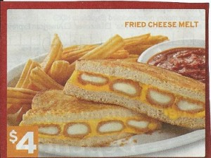 Denny's Fried Cheese