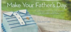 Dad shirt cake