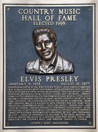 Elvis plaque