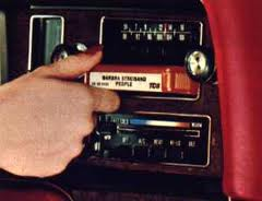 The 8-Track in my Honda Fit.