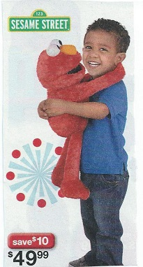 Choke-hold Elmo