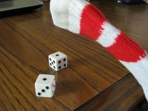 Dang, unlucky roll again!