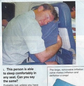 Airline pillow
