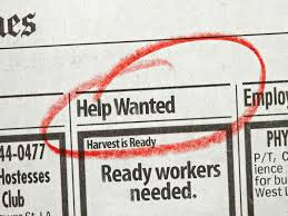 Newspaper help wanted