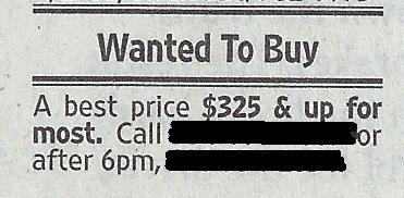Sure, I got one to sell!