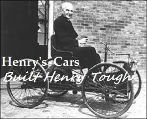 Early car ad.