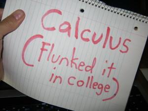 Math wiz he's not.