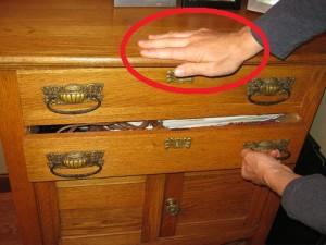 Stupid drawer.