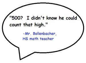 Thanks teach